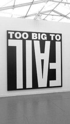 Barbara Kruger, bigger than ever, at the recent Frieze Art Fair in New York.