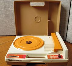 My first record player!