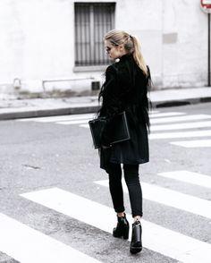 eyesmast dior paris street style rick owens melissa black