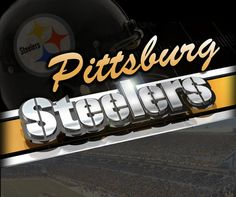 Pittsburgh Steelers NFL Wall Paper Border Home Decor