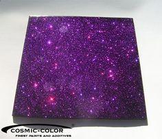 Metal Flakes Glimmer New Purple 100g Super Effekt !