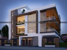 House Hall Design, Kerala House Design, Bungalow House Design, Villa Design, Modern House Design, West Facing House, Morden House, Modern Architecture House, Architecture Design
