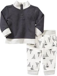 Sweatshirt & Pants Set for Baby $24.94 (reg) size 6-12 months or 12-18 months, carbon or goodnight nora