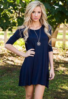 $14.97   Willamina Dress in Navy