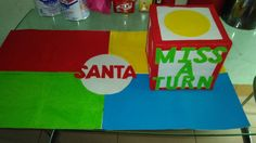 "Make your own ""Santa, Where Are You Game?"" for the classroom."