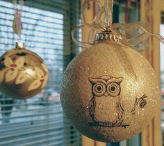 Jouluvalot 'pöllö'