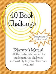 This 16 page resource, inspired by Donalyn Miller, aka the Book Whisperer, has… 6th Grade Reading, Student Reading, Teaching Reading, Learning, 40 Book Challenge, Reading Challenge, Reading Survey, Book Whisperer, Reading Resources