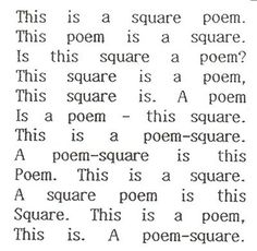 bob cobbing's visual and concrete poetry.