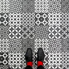 """I was invited by Pixartprinting to explore the city and shoot its amazing floors to create a funny and interesting project called """"Venetian floors"""".  It was my first time in Venice, so I didn't really know what to expect. I stayed 4 days and I think I have seen nearly                     every little street or corner of the city."""