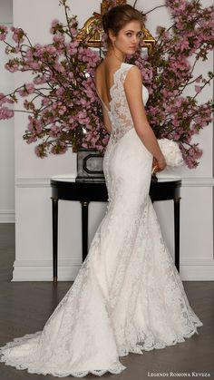 legends romona keveza bridal spring 2017 sleeveless illusion deep vneck lace sheath gown wedding dress (l7132) bv low illusion back train