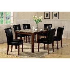 Wildon Home ® Palo Alto 7 Piece Dining Set