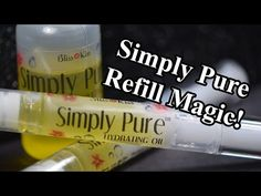 DIY: How To Refill Simply Pure Nail Oil Pens - YouTube