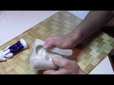 Силиконовые формы для свечей своими руками - YouTube