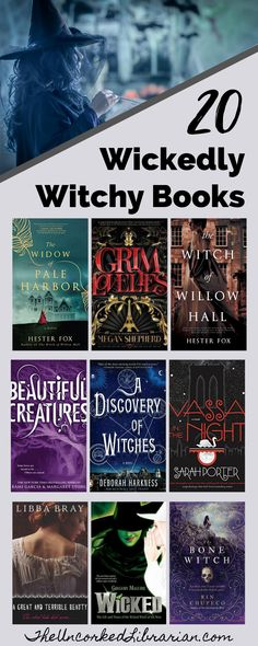 Are you looking for a witch books reading list? Don't miss these 20  wickedly witchy books for adults and teens to read this fall.  Find books with witches, books about witches, and some of the best witch books in historical fiction, gothic fiction, series, and romance. Reading Lists, Book Lists, New Books, Books To Read, Literary Travel, Fallen Book, The Good Witch, Horror Books, Halloween Books