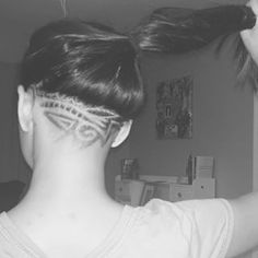 This great graphic. | These Pretty Neck Designs Will Give Your Undercuts New Life