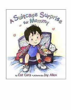 A Suitcase Surprise for Mommy by Cat Cora Hardcover) Just In Case, Smurfs, Suitcase, Little Girls, Parents, Teddy Bear, Joy, Children, Cats
