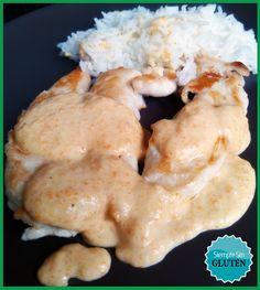 Con una simple salsa se transforma a unos filetes en una comida riquisíiiiisimaaa. Jejejeje. Además, la salsa os servirá para combinar con muchas más comidas. Ingredientes Solomillos de pollo o tam...