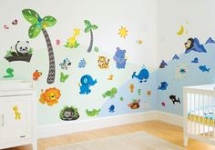 Precious Planet Giant Wall Stickers