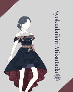 Twitter Anime Angel Girl, Anime Girl Cute, Drawing Anime Clothes, Dress Drawing, Fashion Terms, Fashion Art, Vetements Clothing, Old Fashion Dresses, Manga Drawing Tutorials