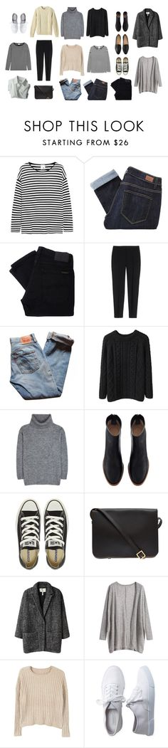 """""""for me!"""" by ybr7 ❤ liked on Polyvore featuring Iris & Ink, Paige Denim, Nudie Jeans Co., Theory, Levi's, L.L.Bean, La Garçonne Moderne, Yves Saint Laurent, Dogpile and Converse"""
