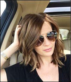 Beste mittlere Frisuren für feines Haar 2018 - Trend Frisuren Stil | Einfache Frisuren