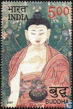 Postage Stamps - India - Buddha