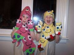 Spongebob and Patrick winter sets