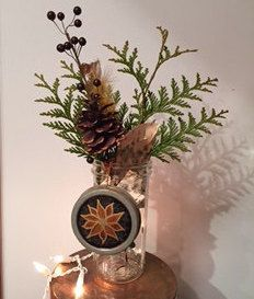 A personal favorite from my Etsy shop https://www.etsy.com/listing/258829079/repurposed-hand-painted-bronze-floral-on
