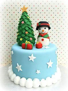 Christmas mini red velvet :)