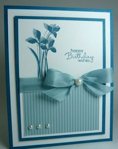 Stampin' Up! Birthday Wishes