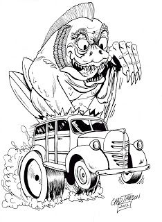 4717 best car art images rolling carts pickup trucks cars 1969 Chevy Nova art by ed newton friday october 5 2012 rat fink big daddy