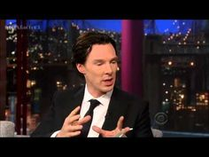 {Benedict Cumberbatch - Interview - David Letterman 5-9-13 - YouTube} - Already up! I LOVE this fandom! :D