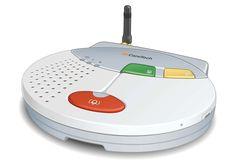 Hausnotrufgerät für mehr Sicherheit mit SIM überall installierbar - GenoVital