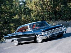 1961 Ford Galaxie Starliner - 427, my first car, bought in 1970 though for a hundred bucks...
