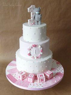 Tatty Teddy First Birthday Cake