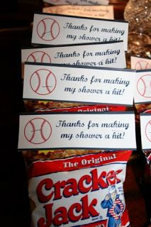 Customer Photos: A Baseball Baby Shower | Nickwilljack
