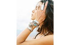 Top The Tank Silver Bangle Bracelets Sets