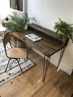 Reclaimed Wood Desk | Etsy