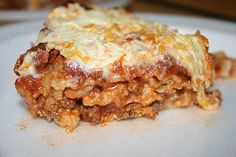 Allergy Free (not vegan but can be with a meatless sauce) Lasagna with Cashew Ricotta Cheese