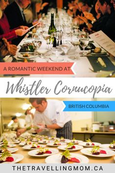 A fabulous culinary festival that makes for a romantic couples getaway, Whistler Cornucopia is a perfect escape in the stunning coastal mountains of British Columbia. Romantic Couples, Romantic Travel, Rekindle Romance, Vegetarian Brunch, Vancouver Travel, British Columbia, Columbia Travel, Whistler, Honeymoon Destinations