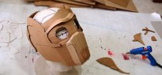How to Build Your Own DIY Star-Lord Guardians of the Galaxy Mask