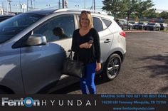 https://flic.kr/p/Ue4MZv | Happy Anniversary to Danyelle on your #Hyundai #Tucson from Jennifer Edwards at Fenton Hyundai! | deliverymaxx.com/DealerReviews.aspx?DealerCode=H248