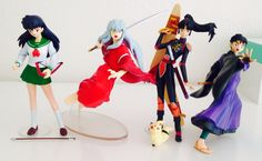 InuYasha Toynami collection Inuyasha, Miroku, Kirara, Otaku, Funko Toys, Anime Toys, Anime Figurines, Anime Merchandise, Figure Model