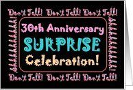 30th SURPRISE Anniversary Celebration Card by Greeting Card Universe. $3.00. 5 x 7 inch premium quality folded paper greeting card. Wedding Anniversary invitations & photo Wedding Anniversary invitations are available at Greeting Card Universe. Wedding Anniversary invitations are always more memorable when they are sent the old-fashioned way. Send a Wedding Anniversary invitation from Greeting Card Universe this year. This paper card includes the following themes: 30t...