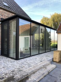 Pergola With Glass Roof