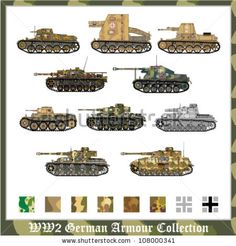 WWII German Tank Camouflage | helps you tiger ii tanks a scheme can get a