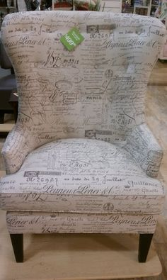 I WANT THIS!! Victoria Grayson's chair from TV show Revenge