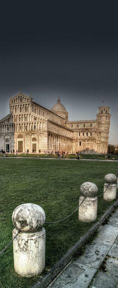 The Piazza dei Miracoli, Pisa, Tuscany, Italy