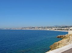 Looking from the point out over the Nice coast - The Best of France: A Two Week Itinerary - The Trusted Traveller