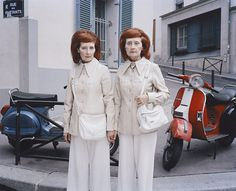 Taylor Wessing Prize 2011: Monette and Mady,  from the series  Reu des partants, 2010 by Maja Daniels